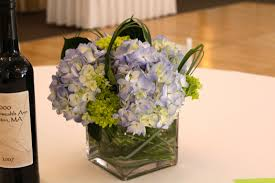white centerpieces furniture flower vases for centerpieces using purple hydrangea