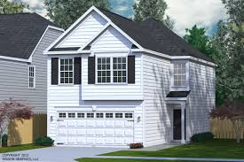 houseplans biz narrow lot house plans page 5