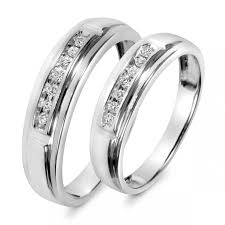 wedding bands sets his and hers amazing tungsten wedding band sets his and hers matvuk