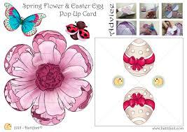 hidden easter egg surprise pop up card hattifant