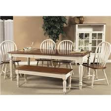 liberty furniture low country rectangular dining table with turned
