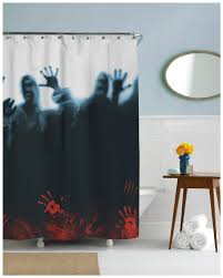 Funny Shower Curtains For Men by 21 Horror Inspired Shower Curtains To Creep Up Your Home Riot Daily