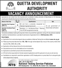 quetta development authority qda jobs 2016 available for 10