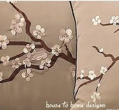 Zen Bedding Sets Cherry Blossom Bed Set White Bed
