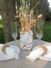 Beach Theme Centerpiece Ideas by Starfish Themed Wedding Table Decorations And Centerpieces
