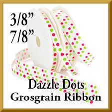 grosgrain ribbon bulk wholesale dazzle dots glitter grosgrain ribbon bulk glitter
