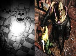 fnaf x resident evil five nights at freddy u0027s know your meme