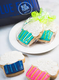 Cookie Favors by Sugar Cookie Favors Blue Flour Bakery