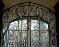 Curtain Designs For Arches Fabric Arch Window Shade Arched Window Treatments Pinterest