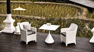 Dedon Patio Furniture by Contemporary Armchair Resin Wicker Garden Barcelona By