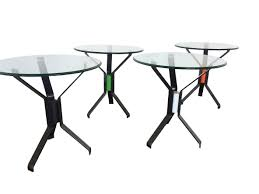 funky side tables mènage table collection funky steel