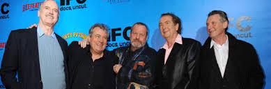 monty python members to reunite for sci fi comedy absolutely