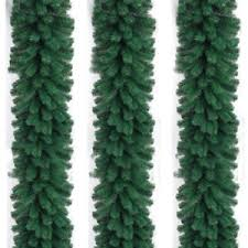 2 7m 280 branch garland pine wreath thick fireplace