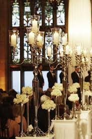 Aisle Markers Ceremony Décor Photos Candelabra Aisle Markers Inside Weddings