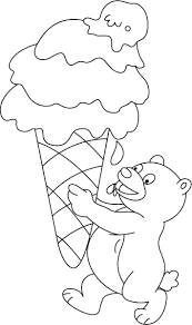 icecream coloring pages