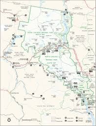 National Parks Us Map File Map Of North Cascades National Park Png Wikimedia Commons