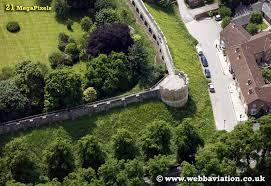 aerial photographs of york england uk