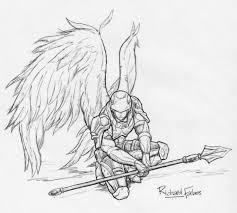 angel warrior by rozhvector deviantart com on deviantart clip