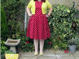 polka spots and freckle dots red and yellow polka dots