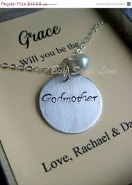 godmother necklace baptism picmia