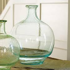 Large Clear Glass Floor Vases Lady Jane Bottleneck Vase Large On Clearance For 25 00 Shop At