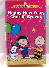a charlie brown thanksgiving vhs vhs peanuts classic happy new year charlie brown u2022 9 95 picclick