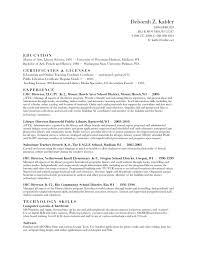 Paraprofessional Job Description For Resume by Resume Deborah Kabler