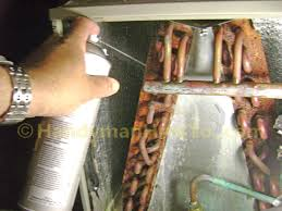How To Clean Ac Evaporator Coils Foaming Coil Cleaner