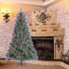 lightly flocked christmas tree donner blitzen incorporated 7 pre lit lightly flocked wyoming fir