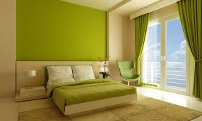 Beautiful Wall Painting Ideas And Designs For Living Room - Green bedroom color