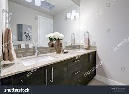 how to clean wood cabinets in bathroom gray clean bathroom design brand new stock photo edit now