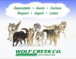 what we stand for wolf creek company