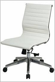 White Armless Office Chair Armless White Computer Chair Carucior