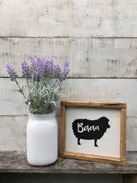 sheep kitchen decor kitchen signs home decor country decor