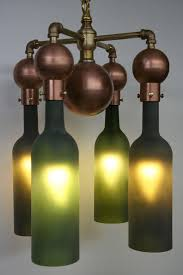 Whiskey Bottle Chandelier 27 Ideas Of How To Recycle Wine Bottles Into Pieces Of Art