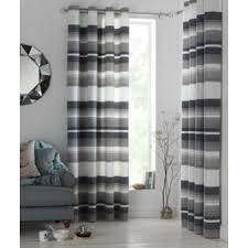 Lined Grey Curtains Buy Heart Of House Lincoln Eyelet Curtains 116 X 137cm Grey At
