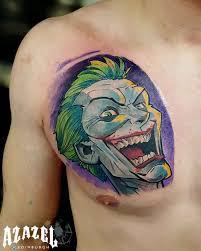 tattoo pictures joker joker tattoo on chest best tattoo ideas gallery