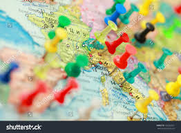World Map Of Europe by Map Europe Cities Marked City On Stock Photo 136262261 Shutterstock