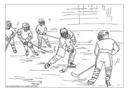 100 hockey player coloring pictures coloring pages hockey