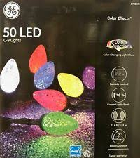 ge color effects led color changing christmas lights plastic ge indoor outdoor christmas lights ebay