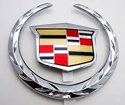 cadillac cts emblem amazon com cadillac cts v 04 thru 07 chrome grille wreath and