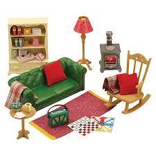 Sylvanian Families Cosy Living Room Furniture Set Sylvanian - Sylvanian families living room set