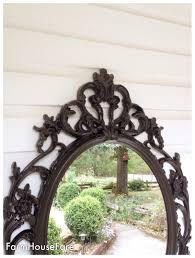 baroque mirror oil rubbed bronze bathroom mirror shabby