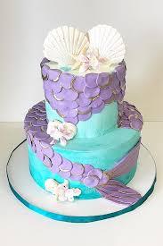 mermaid cakes mermaid themed birthday cake johnson s custom cakes