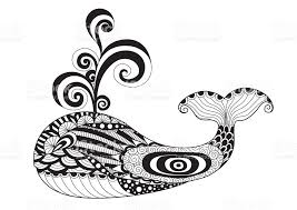 whale coloring page stock vector art 492458136 istock