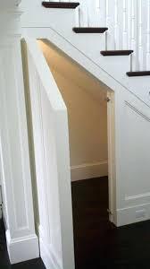 amazing closet under stairs making storage space under stairs