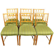 Danish Walnut Dining Chairs S Set Of  For Sale At Pamono - Walnut dining room chairs