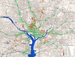 Dc Metro Rail Map by This Map Shows Where The Most Bus Riders Live And How Close They