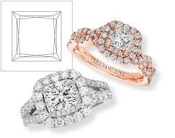 engagement rings square images Princess cut engagement rings princess cut diamond rings jared jpg