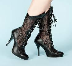 womens boots on ebay plus size steunk wide width vintage crochet wedding